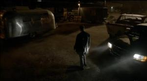 Renard at the trailer